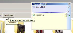 Windows CLIP