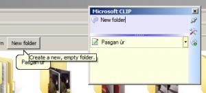 Windows CLIP